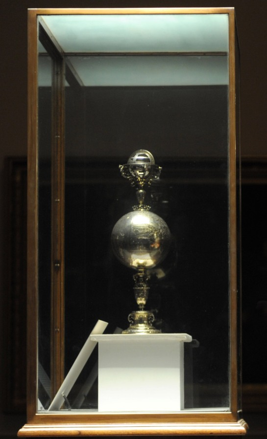 The Drake Cup at Plymouth Museum
